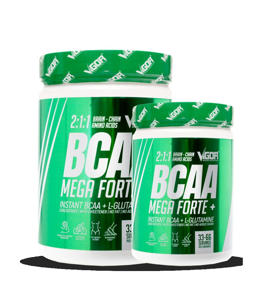 BCAA Mega Forte + BCAA Mega Forte