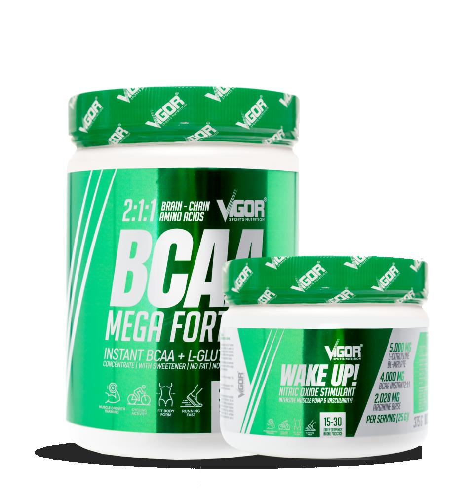 BCAA Mega Forte + Wake Up! náhled