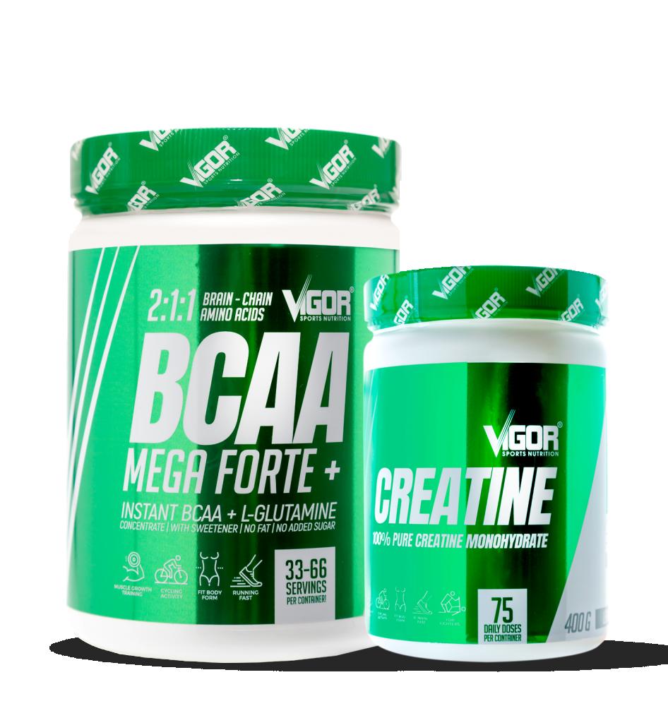 Creatine + BCAA Mega Forte