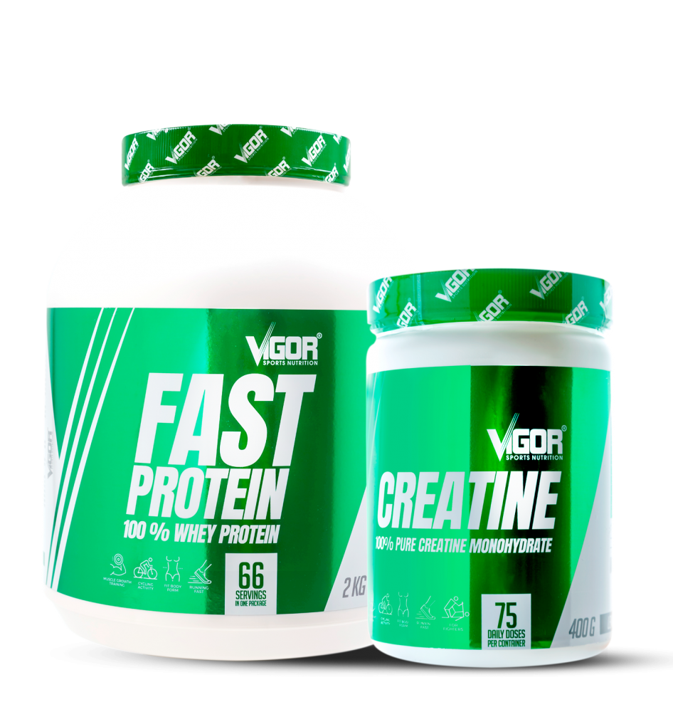 Creatine + Fast Protein náhled