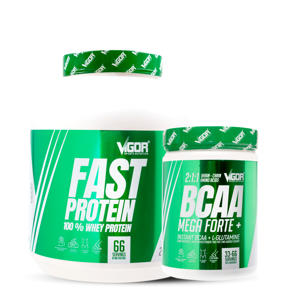 Fast Protein + BCAA Mega Forte