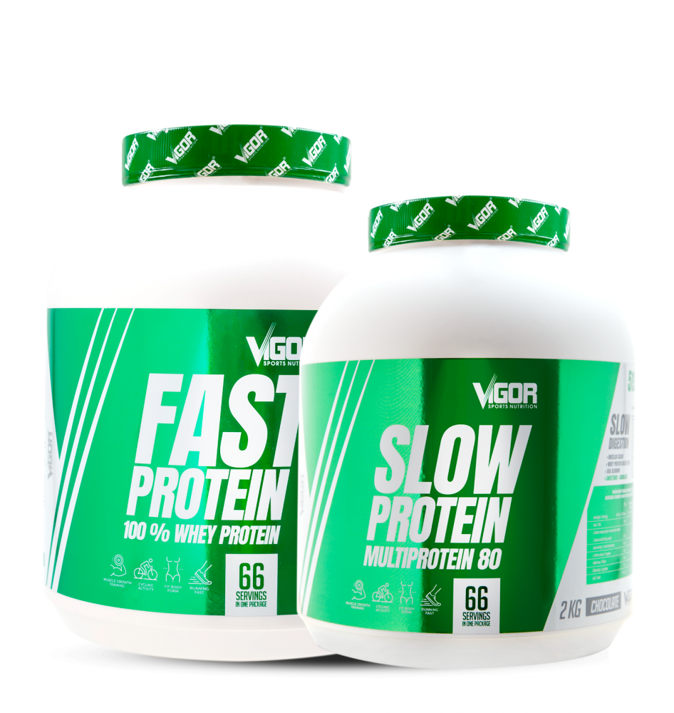 Fast Protein + Slow Protein náhled