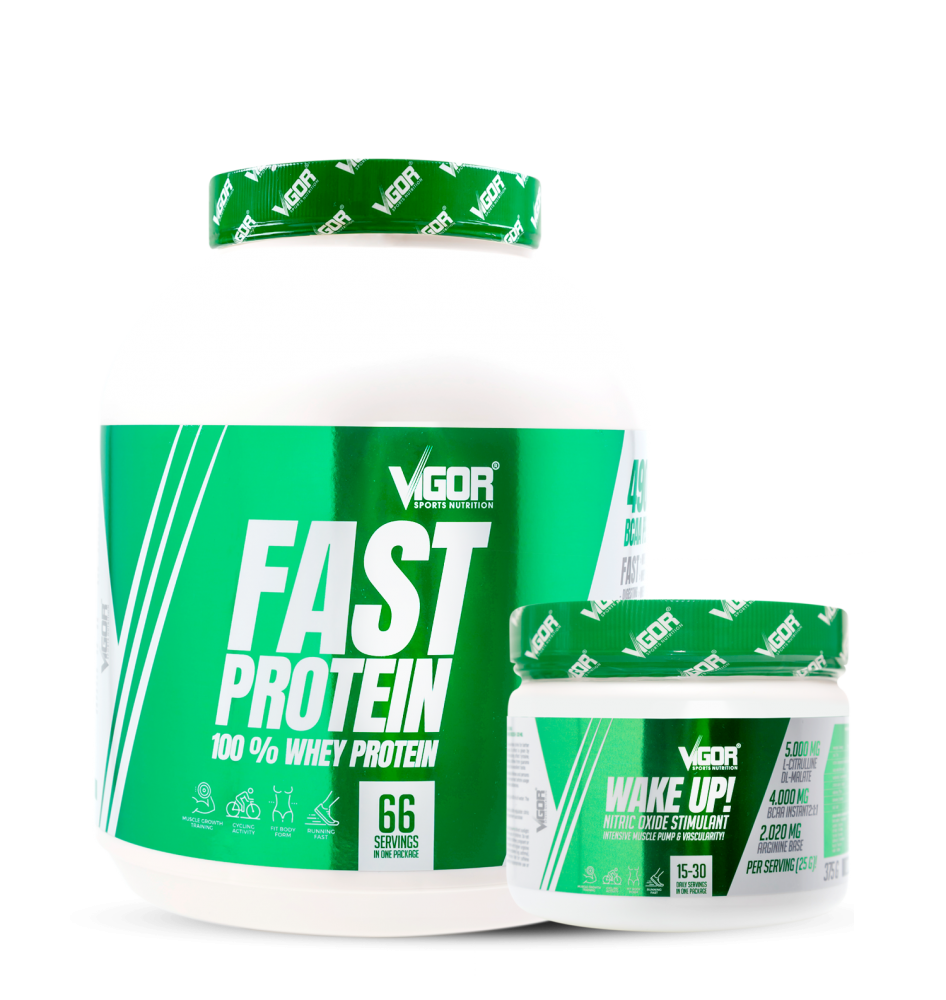 Fast Protein + Wake Up! náhled