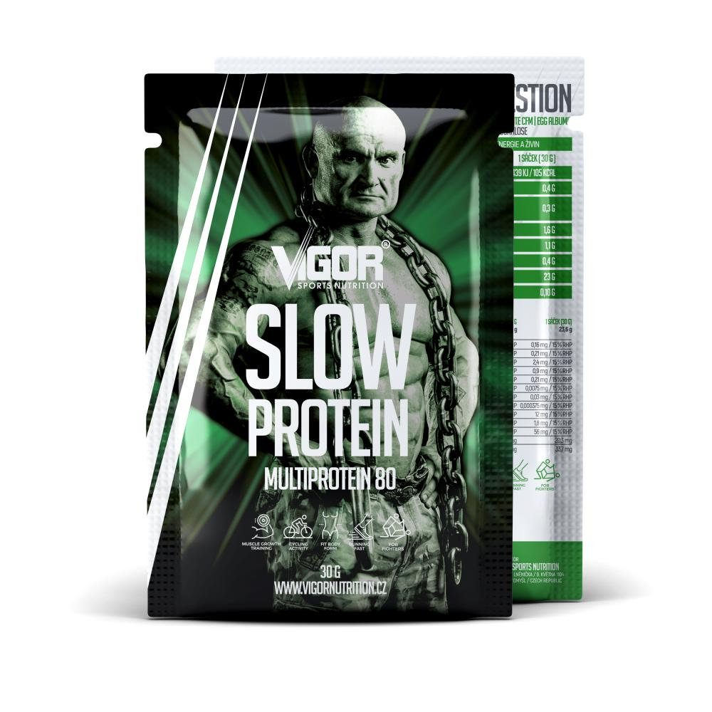 SLOW PROTEIN – vzorek (30 g) náhled