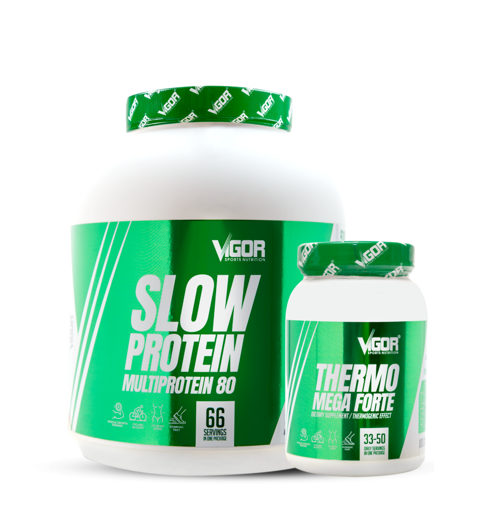 Slow Protein + Thermo Mega Forte náhled