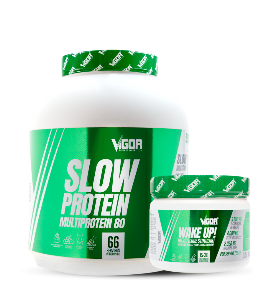 Slow Protein + Wake Up!