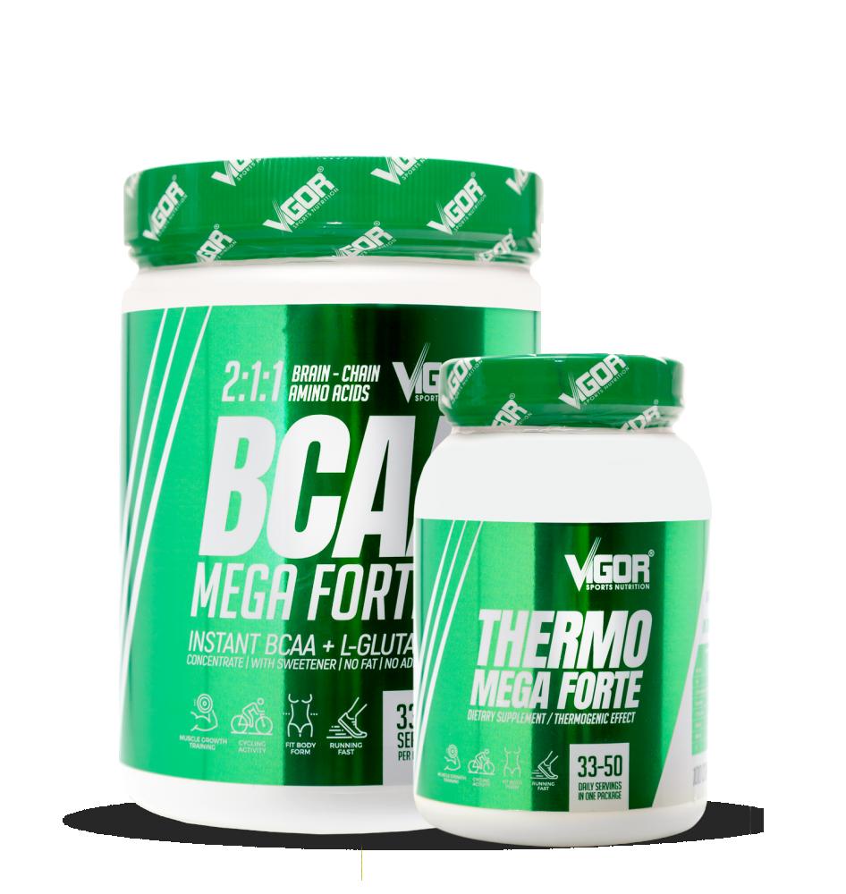 Thermo Mega Forte + BCAA Mega Forte