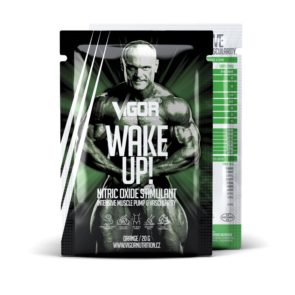 WAKE UP - vzorek (20 g) příchuť pomeranč