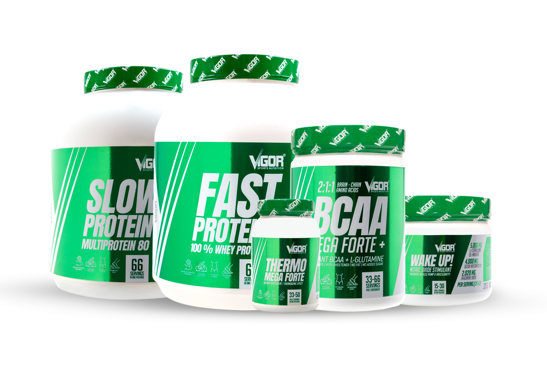 Produkty Vigor Sports Nutrition